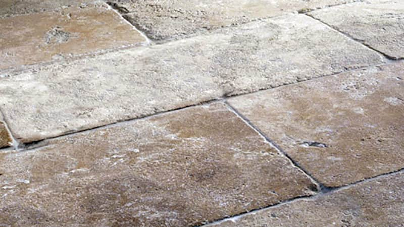 Antique Stone Flooring Finish French Quarter