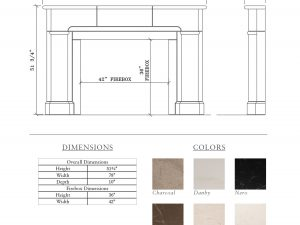 Etienne Fireplace schematics
