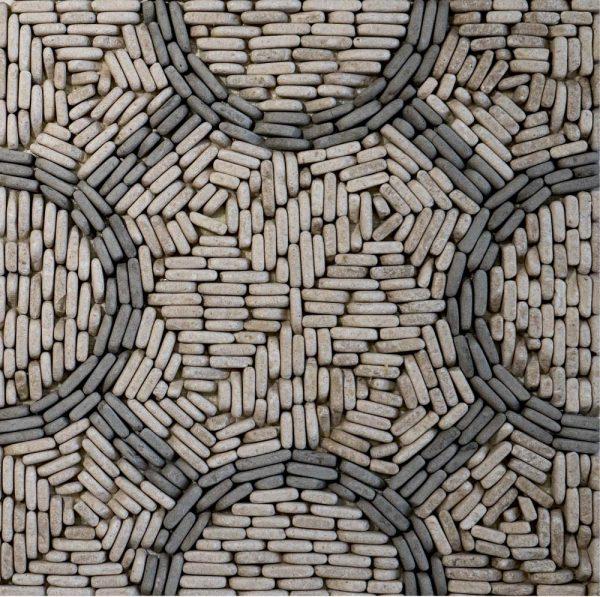 Pebbles Collection Charcoal circulo circles