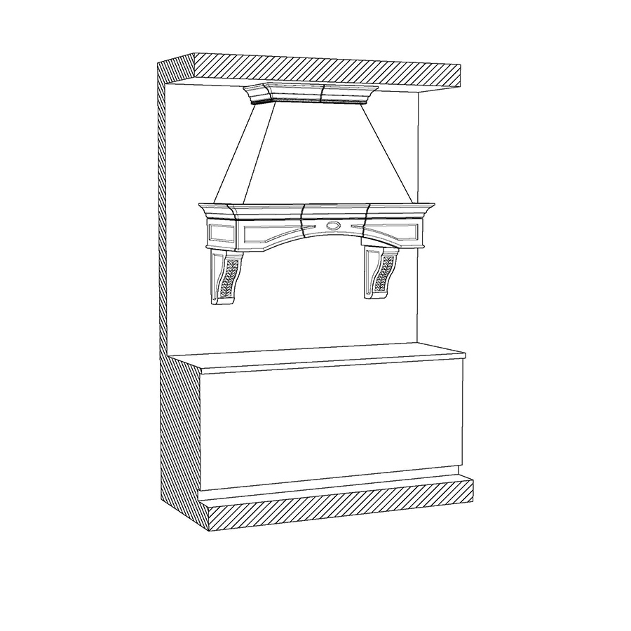 KH-501-1 Kitchen Hood
