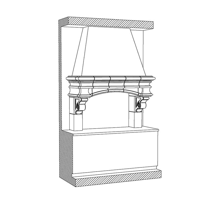 KH-504-1 Kitchen Hood