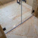 Golden Sand Tile and Mosaic Floor