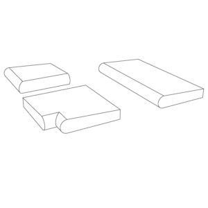 PC-574 Pool Coping