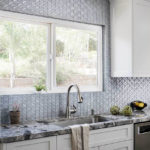 Oceanside Glass Mosaic Backsplash