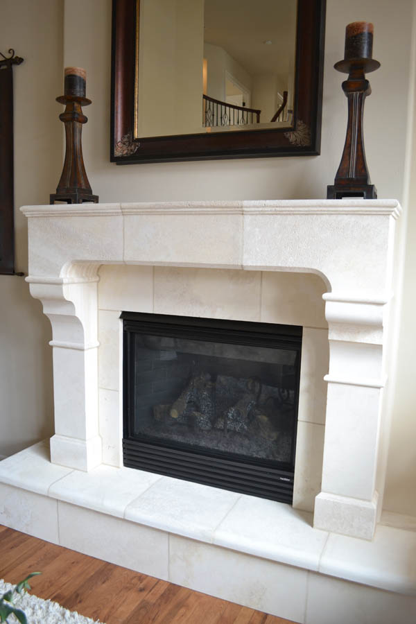 Fireplace #205 in Riviera Beige Honed