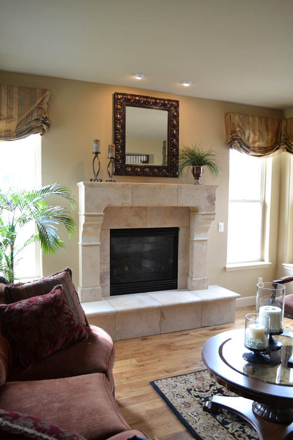 Fireplace #205 in Sienna Honed